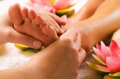 Foot Treatment Session Reflexology Healing Medfield MA