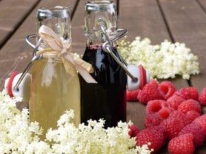elderberry and raspberry syrup Reflexology Healing Medfield MA